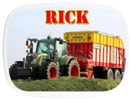 Broodtrommel traktor Rick