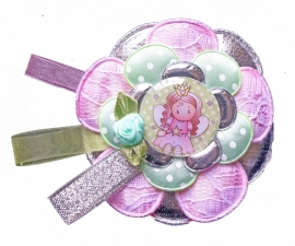Broche Charming girl Prinses groot