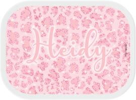 Mepal broodtrommel Pink Panter Glitter