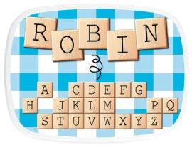 Broodtrommel Scrabble