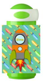 Mepal Drinkbeker Raket groen