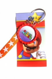 Canvas hanger Mario Bros met bottlecap