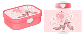 Mepal broodtrommel en drinkbeker Pink Glitter Prinses