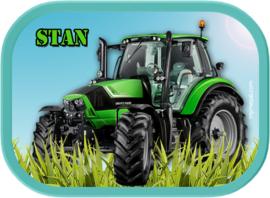 Mepal broodtrommel traktor groen