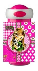 Drinkbeker Daisy pink