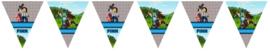 Kinderfeest vlaggenslinger Minecraft Horse