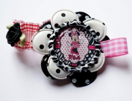 Elastisch armbandje Minnie Mouse