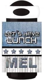 Mepal Drinkbeker Let's have lunch denim
