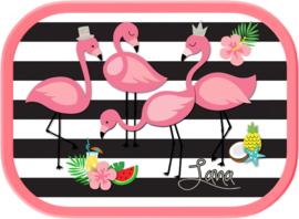 Mepal broodtrommel Flamingo ontwerp