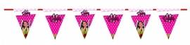 Kinderfeest vlaggenslinger Pink Photo