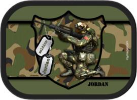 Broodtrommel Army Soldier
