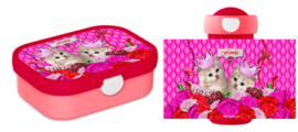 Set Mepal broodtrommel en drinkbeker Kitsch Kitten
