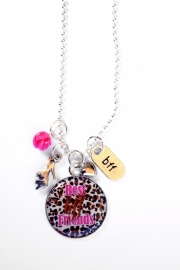 BFF Best Friends Forever Ketting (panter)