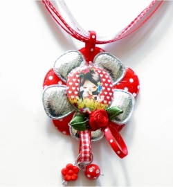 SPECIAL MADE ketting Juul hearts zilver