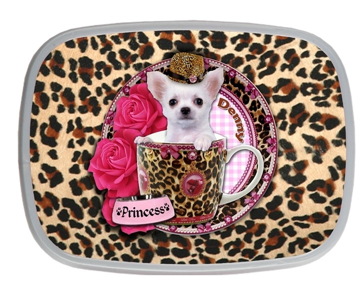Broodtrommel Chihuahua in Teacup