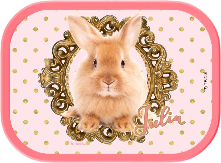 Mepal broodtrommel Bunny gold