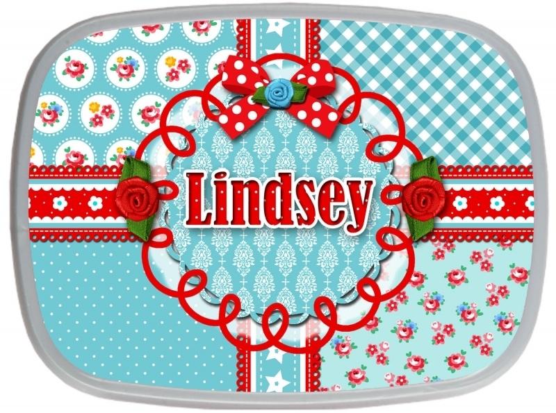 Broodtrommel Lindsey Blue