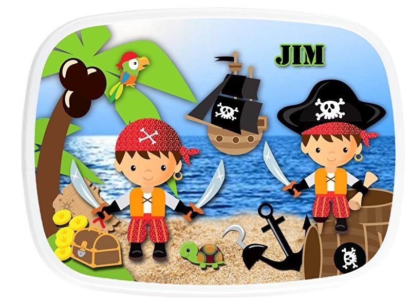 Broodtrommel Piraten