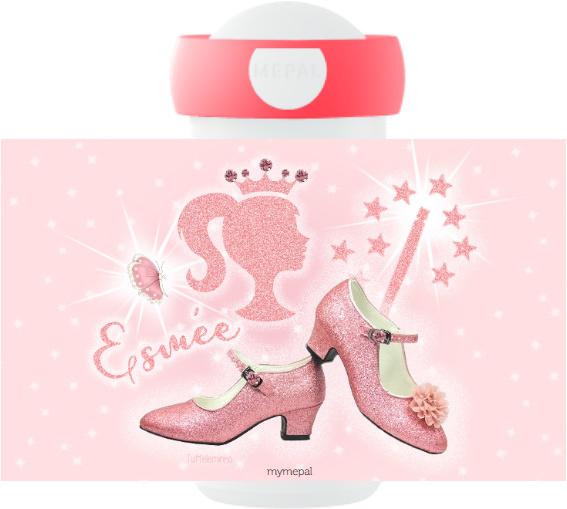 Mepal Drinkbeker Pink Glitter Prinses