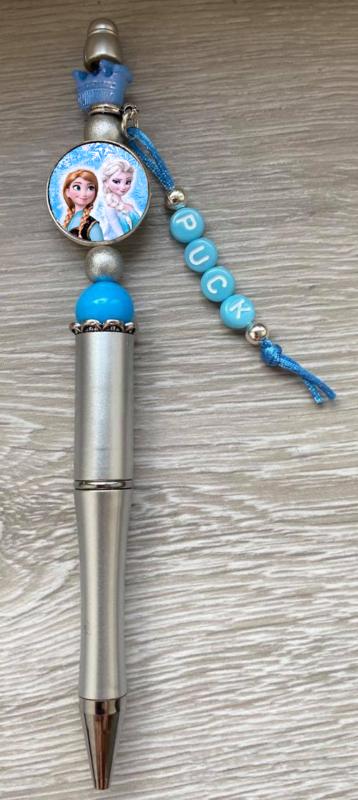 Pen Frozen met naam (keuze uit 6 kleuren)Naam