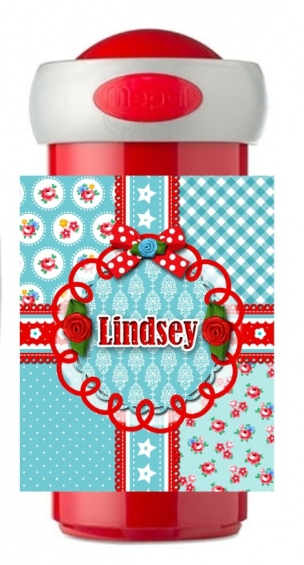 Drinkbeker Lindsey Blue