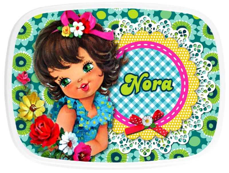 Broodtrommel Nora Retro