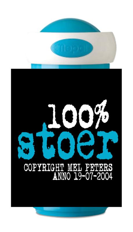 Mepal Drinkbeker 100% stoer met kleur