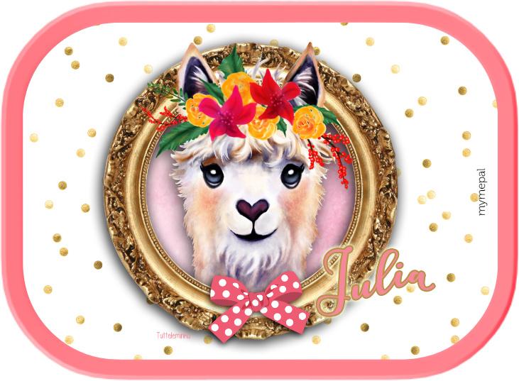 Mepal broodtrommel Alpaca gold