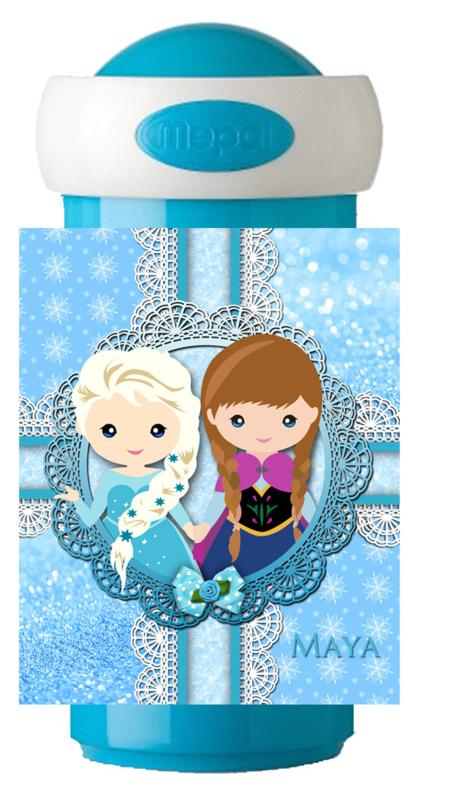 Drinkbeker Frozen like characterized