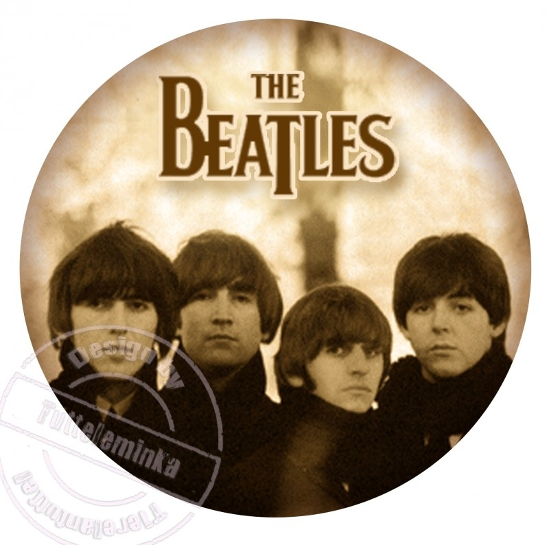 FOR THE LADY`S!!! strijkapplicatie Beatles, ± 20 cm