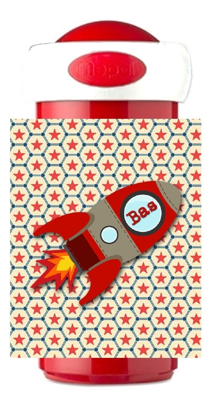 Mepal Drinkbeker �Raket rood