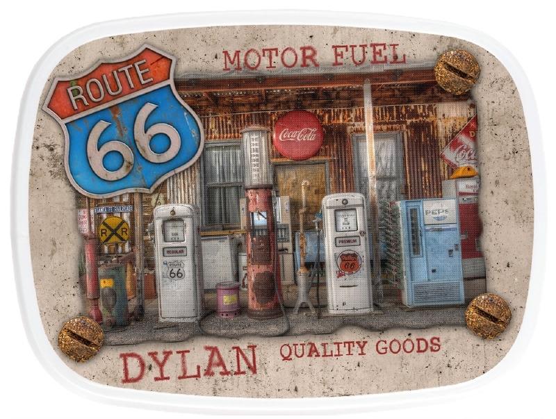 Broodtrommel Motor Fuel