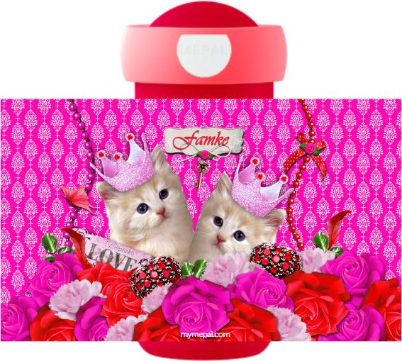 Drinkbeker Kitsch Kitten