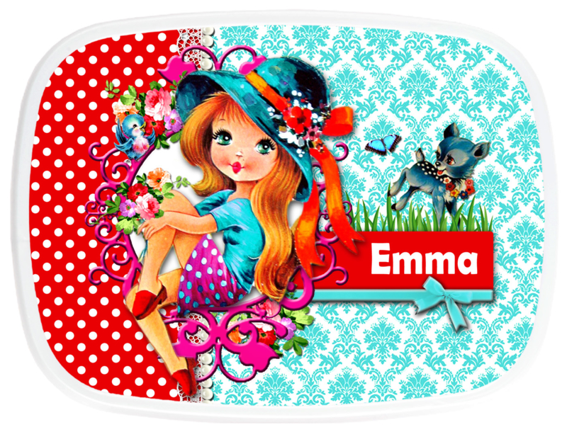 Broodtrommel Emma Retro