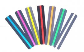 Ashley Leesliniaal met gekleurde leeswijzer, smal, 12 stuks