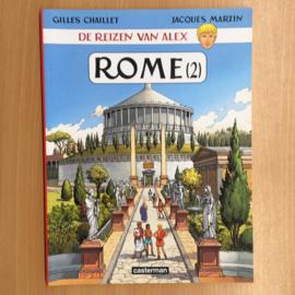 Boek: De reizen van Alex - Rome 2 (gebruikt)