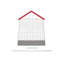 Honderdveld-huisje, wisbordje