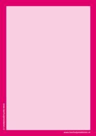 Gekleurd wisbordje A5