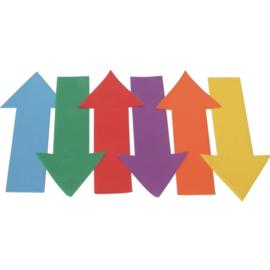 Vloermarkers - Pijlen (set van 6 stuks)