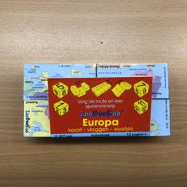 ZooBooKoo Kubusboek - Europa (gebruikt)