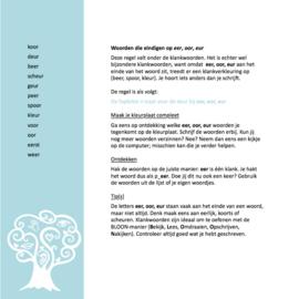 Spellingkleurplaten - deel 1
