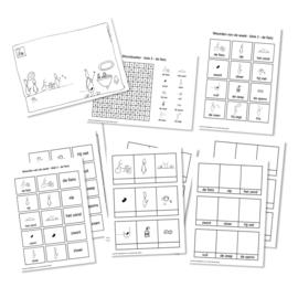 Spellingkleurplaten - Blok 3 - de fiets (PDF-bestand)