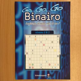 Boek: Binairo niveau 2 & 3 vanaf 8 jaar (gebruikt)