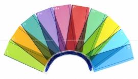 Crossbow Gekleurde Leesliniaal versie 2, 10 stuks