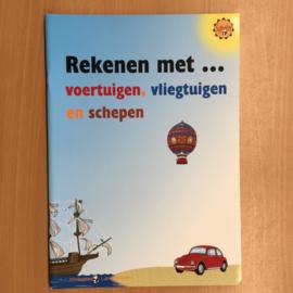 Boek: Rekenen met ... voertuigen, vliegtuigen en schepen (gebruikt)