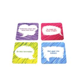 Helpende Gedachten (52 positieve hulpkaarten)