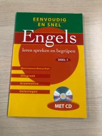 Boek: Eenvoudig en snel Engels, deel 1 (gebruikt)