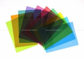 Crossbow Gekleurde Leesliniaal A4, 5 stuks