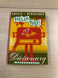 Boek: Hello you! Woordenboek Engels/Nederlands (gebruikt)