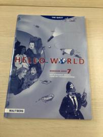 Boek: Hello World, Workbook groep 7 (gebruikt)